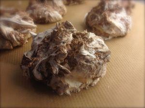 Maränger med Nutellaswirl